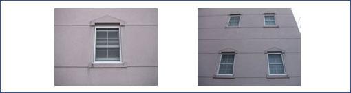 珪藻土出窓仕上げ